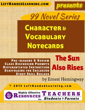 {99 Novel} The Sun Also Rises by Ernest Hemingway Characte