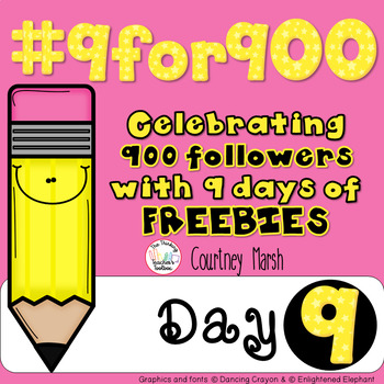 #9for900 Freebie Celebration Day 9