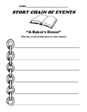 """""""A Baker's Dozen"""" Myth and Legend Story Chain of Events Worksheet"""