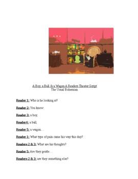 "Tribute to Lewis Hine, ""A Boy, a Ball, & a Wagon,"" A Reade"