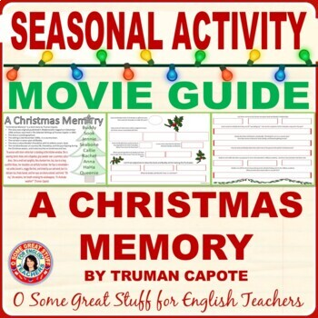 a christmas memory movie guide lovely christmas activities