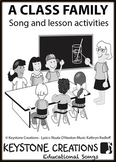 'A CLASS FAMILY' ~ MP3: READ, SING & LEARN about safe, respectful behaviour