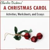 """A Christmas Carol"" Activities and Essay Bundle"