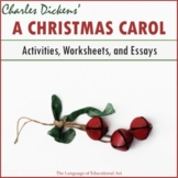 """A Christmas Carol"" Activities and Essay Bundle"