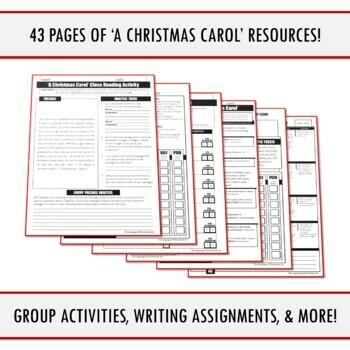 """A Christmas Carol"" FULL UNIT BUNDLE (SAVE 20%)"