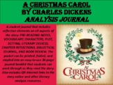 """A Christmas Carol"" Reading Analysis Journal"