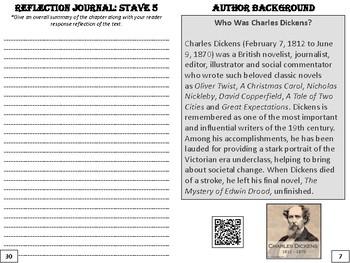 """""""A Christmas Carol"""" Reflective Journal"""