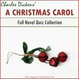"""A Christmas Carol"" Full Novel Quiz Collection"