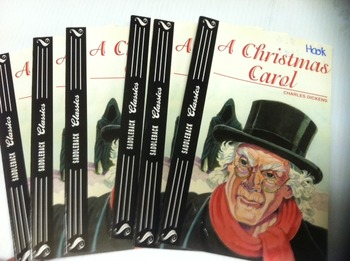 """A Christmas Carol"" books, by Charles  Dickens - Literatur"