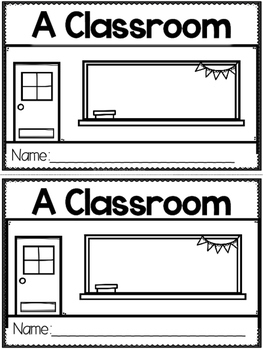 """A Classroom"" (A Back to School Emergent Reader Dollar Deal)"