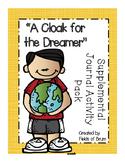 """A Cloak for the Dreamer"" Supplemental Journal Activity Pack"