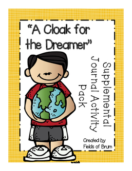 """A Cloak for the Dreamer"" Supplemental Journal Activity Pack"