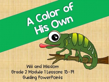 'A Color Of His Own' Wit and Wisdom Guiding PowerPoints