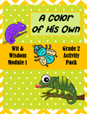 """""""A Color of His Own"""" Activity Packet (Wit & Wisdom Grade 2"""