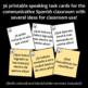 ¡A Conversar! Task Cards / futuro y futuro perfecto / Realidades 3, Chapter 6