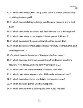 """""""America is Under Attack"""" by Don Brown, Battle of the Books Questions"""