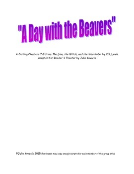 """""""A Day with the Beavers"""""""