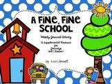 A Fine, Fine School  Journal Booklet 3rd Grade Journeys