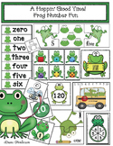 """Frog Activities: """"A Hoppin' Good Time!"""" Number Fun With a Frog"""