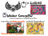 """""""A""""-LETTERS-Caterpillar Alphabet"""