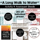 """""""A Long Walk to Water"""" Activity and Assessment Bundle"""