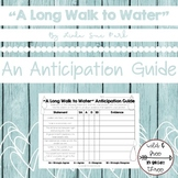 """A Long Walk to Water"" Anticipation Guide"