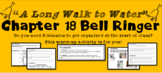 """A Long Walk to Water"" Chapter 18 Warm-Up Activity - Bell Ringer - PRINTABLE"