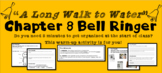 """A Long Walk to Water"" Chapter 8 Warm-Up Activity - Bell Ringer - PRINTABLE"