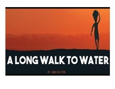 """""""A Long Walk to Water"""" Gallery Walk Questions and Worksheet"""