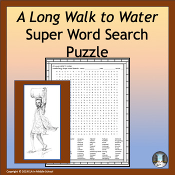 A Long Walk to Water Super Word Search