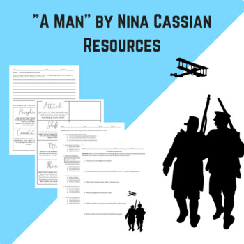 """A Man"" Poem Resources"