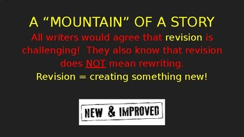"""""""A Mountain of a Story"""" (personal narrative PowerPoint)"""