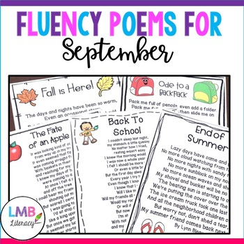 A Packet Of Poems- SEPTEMBER-Fun September Poems in color and B&W