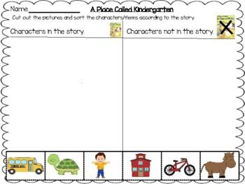 """A Place Called Kindergarten"" Kindergarten Unit:"