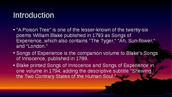 """'A Poison Tree"""" by William Blake"""