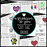"""A Promise To You"" Gift Tag Freebie!"