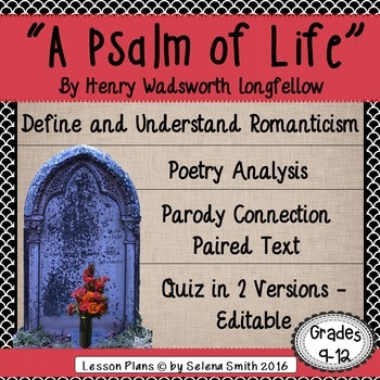 """""""A Psalm of Life"""" by Henry Wadsworth Longfellow"""