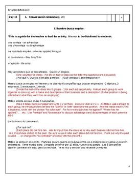 ¿A Qué Te Dedicas? A Pre AP Spanish Thematic Unit