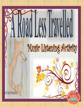 """A Road Less Travelled""  A Creative, Quiet, Listening Brain Break!"