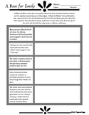 """A Rose For Emily"" - Historical Context Worksheet/Activity"