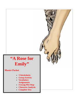 """A Rose for Emily"" ~ 22 page MASTER PACKET with KEY - Common Core!"