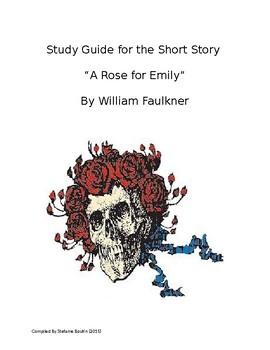 """ A Rose for Emily"" by William Faulkner;Essential Questions, Vocab, CCSS"