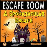 A SPOOKTACULAR ESCAPE~ Halloween Escape Room/Breakout ~All Digital Locks~