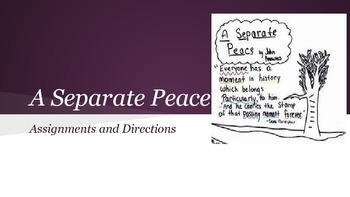 """A Separate Peace"" Chapters 1, 3, and 4 Activities"