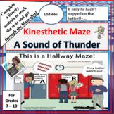 A Sound of Thunder | Kinesthetic Maze