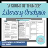 """""""A Sound of Thunder"""" by Ray Bradbury Literary Analysis Gra"""