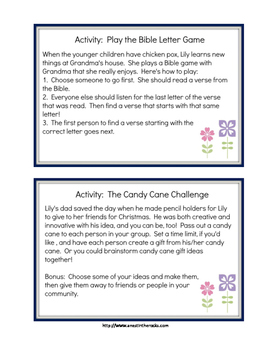 """""""A Surprise for Lily"""" Activity Packet"""