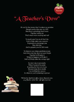 """""""A Teachers Vow"""""""