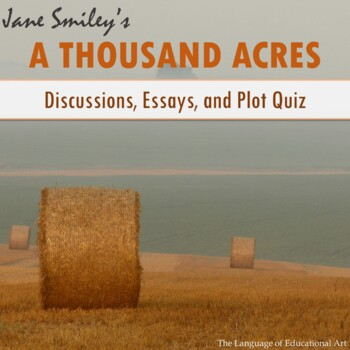 Lesson Plan A Thousand Acres by Jane Smiley