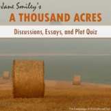 'A Thousand Acres' Activities [Discussions, Essays, and Plot Quiz]